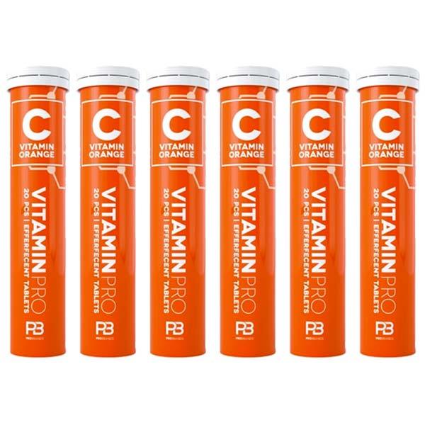C-Vitamin 20St Brustabletter-Apelsin