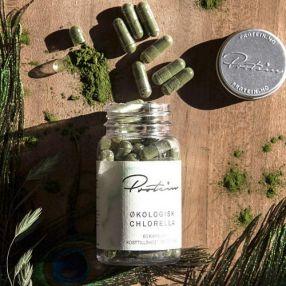 Chlorella Økologisk 60 Kapsler