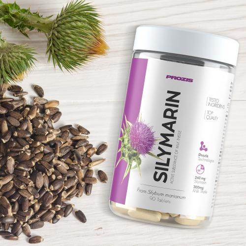 Mariatistel, Milk Thistle,(Silymarin) 90 Tabletter