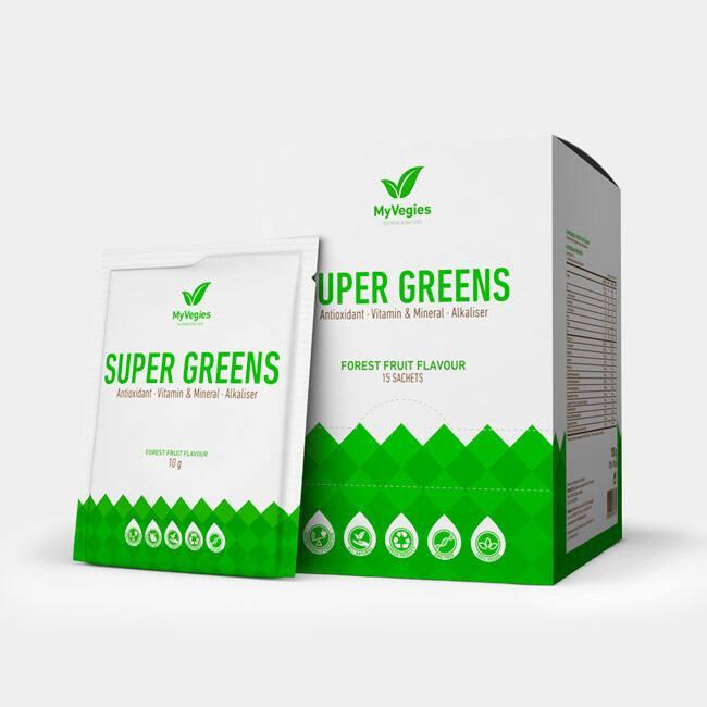 15 X Super Greens 10 G